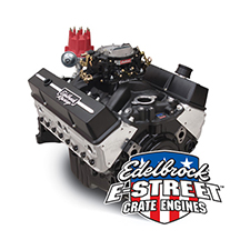 Edelbrock Crate Engine E-Street Carbureted 9.0:1