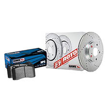 Hawk Performance Sector 27 Brake Kits with HPS street Brake Pads